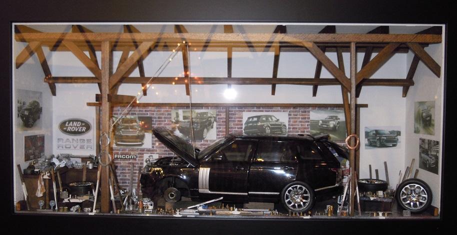 Car Display Box – Range Rover