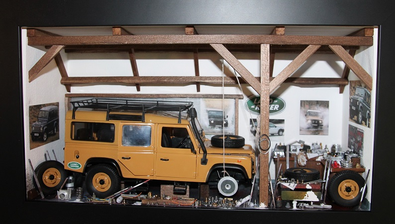 Car Display Box – Land Rover D110