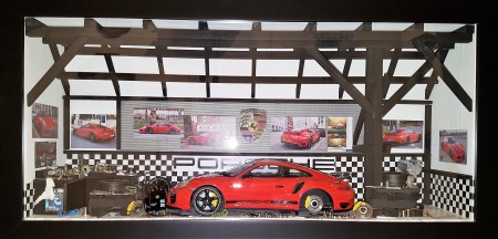 Car Display Box – Porsche 911 (991) Turbo S