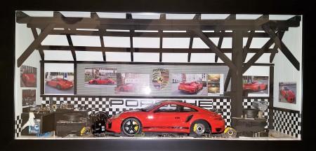 Car Display Box – Porsche 911 (991) Turbo S