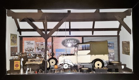 Car Display Box – Land Rover Series 1