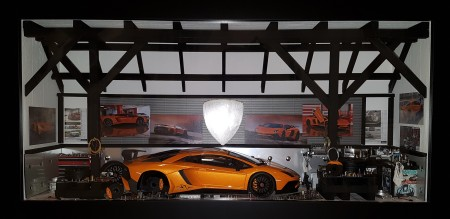 Car Display Box – Lamborghini Aventador SV