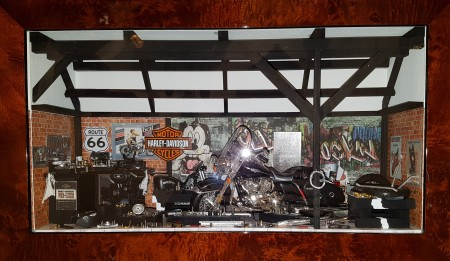 Car Display Box – Harley Davidson Road King