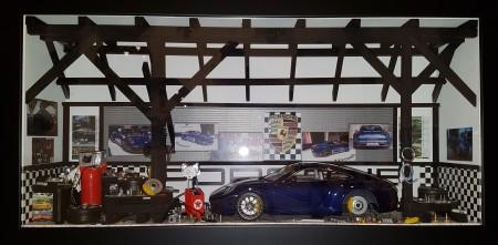 Car Display Box – Porsche 911 (992) Carrera