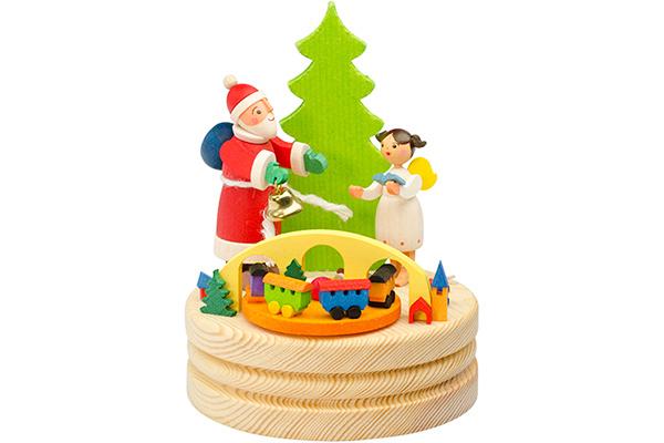 Music Box – Santa Claus With Baby Jesus