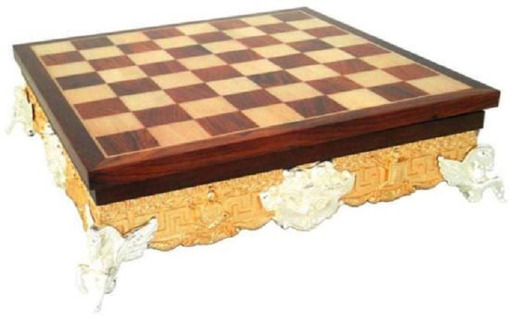 Chess Board – Golden Rosewood