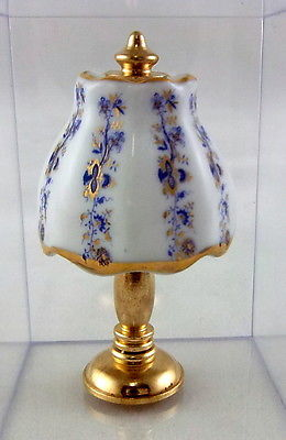 Table Lamp – Gold Blue Onion