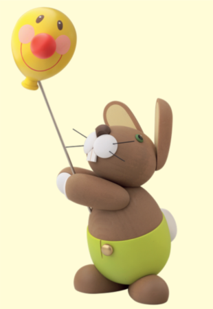 Bunny With Face Balloon – Large