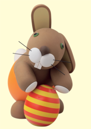 Bunny With Egg – Large