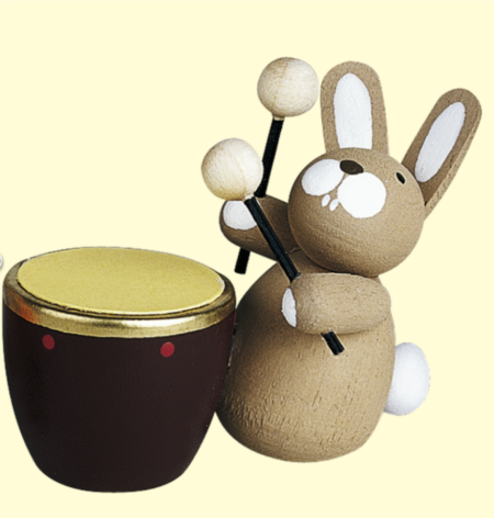 Bunny With Drum