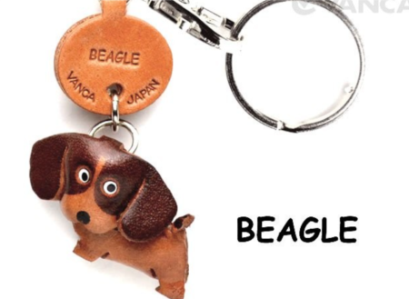 Leather Key Chain – Beagle