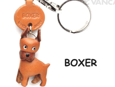 Leather Key Chain – Boxer