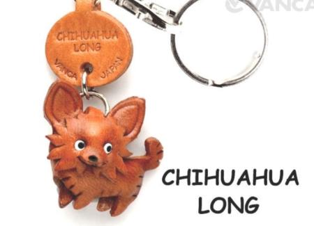 Leather Key Chain – Chihuahua Long