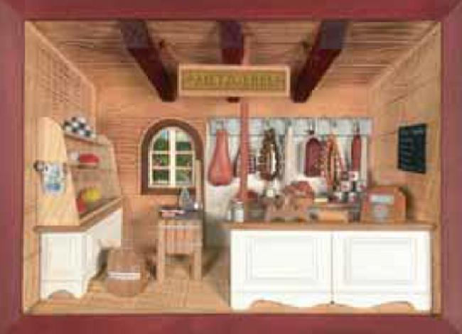 3D Picture Frame – Butcher Shop