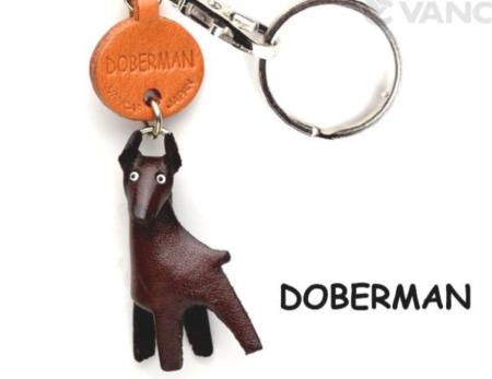 Leather Key Chain – Doberman
