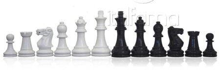 Chess Pieces – Lacquered Wood