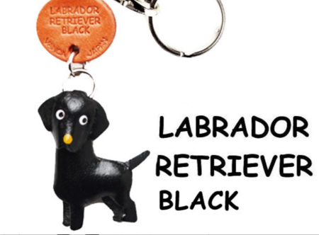 Leather Key Chain – Labrador Retriever