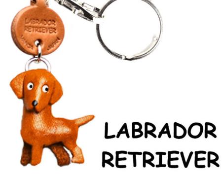 Leather Key Chain – Labrador Retriever
