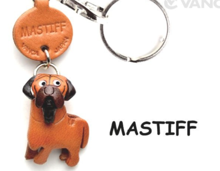 Leather Key Chain – Mastiff