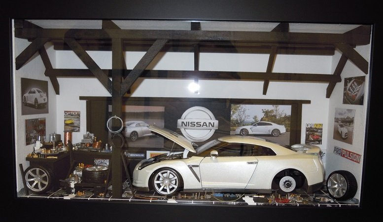 Car Display Box – Nissan GTR R35