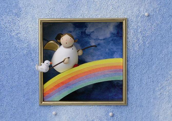 Angel On Rainbow
