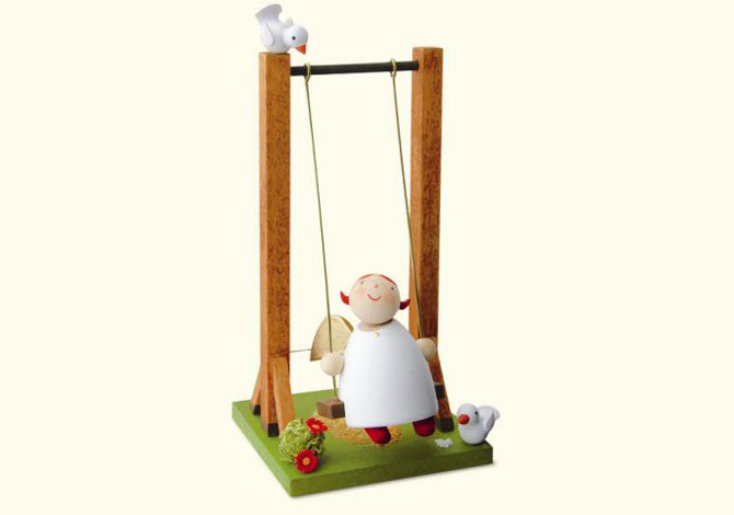 Angel On Swing