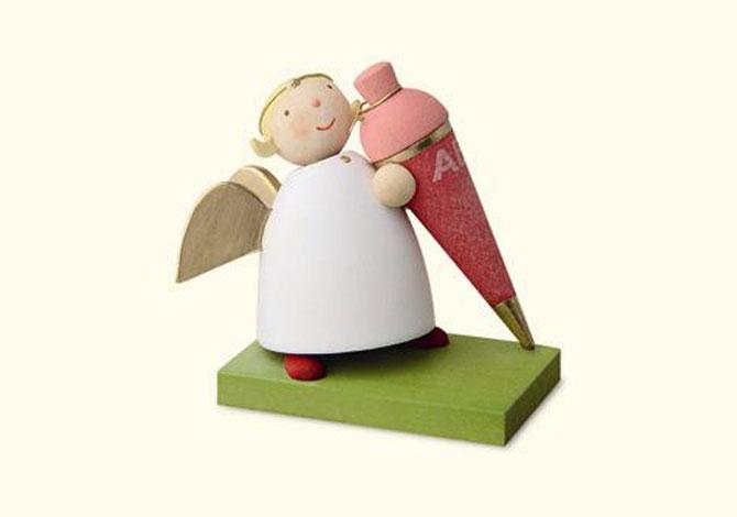 Angel With Zuckertuete, Pink