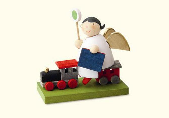 Angel With Train