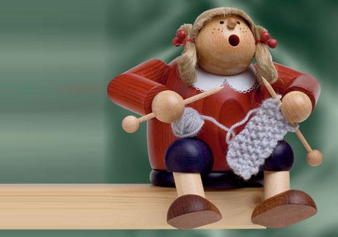 Knitting Lisa