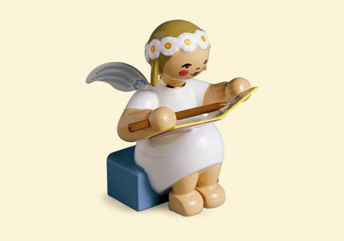 Marguerite Angel With Book