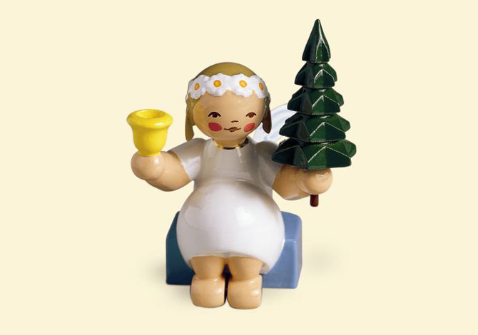 Marguerite Angel Sitting With Tree