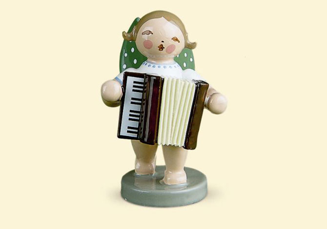 Angel With Accordion