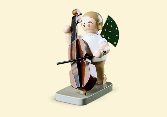 Angel With Double Bass