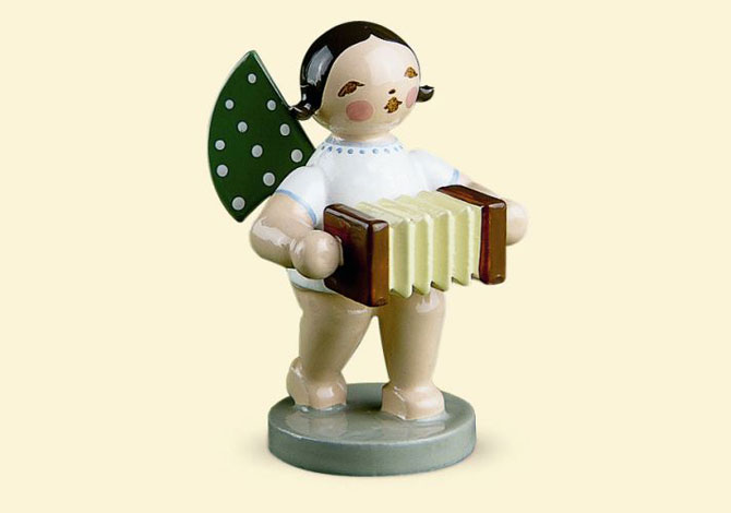 Angel With Concertina