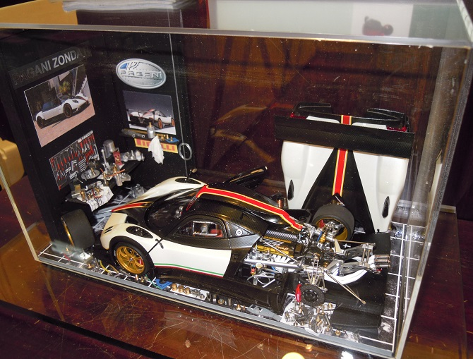 Car Display Box – Pagani Zonda R