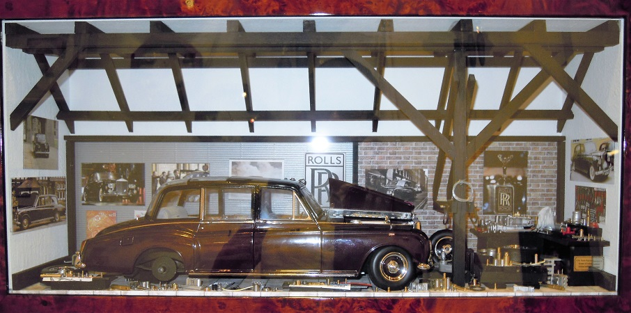 Car Display Box – Rolls Royce Phantom VI