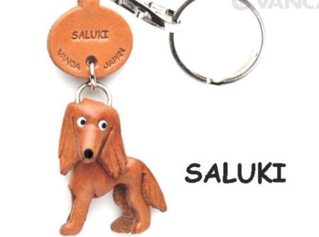 Leather Key Chain – Saluki