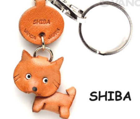 Leather Key Chain – Shiba