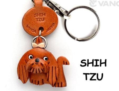 Leather Key Chain – Shih Tzu