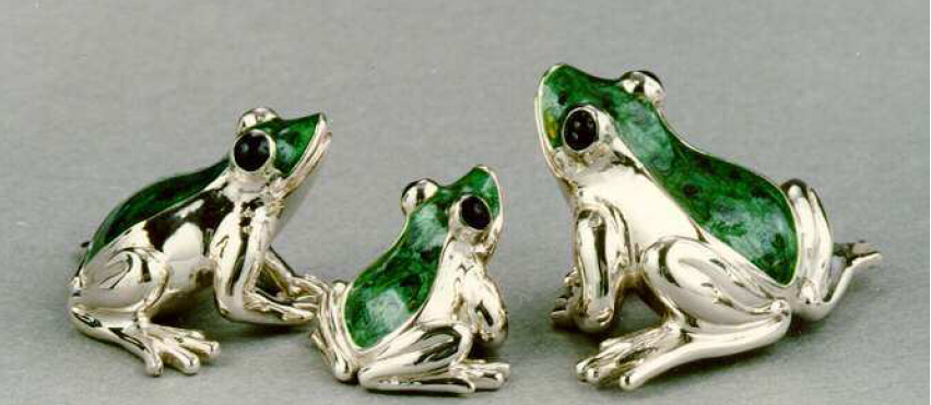 Silver Frogs