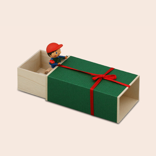 Music Box – Geschenke Box Boy With Flower