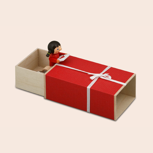 Music Box – Geschenke Box Girl With Flower