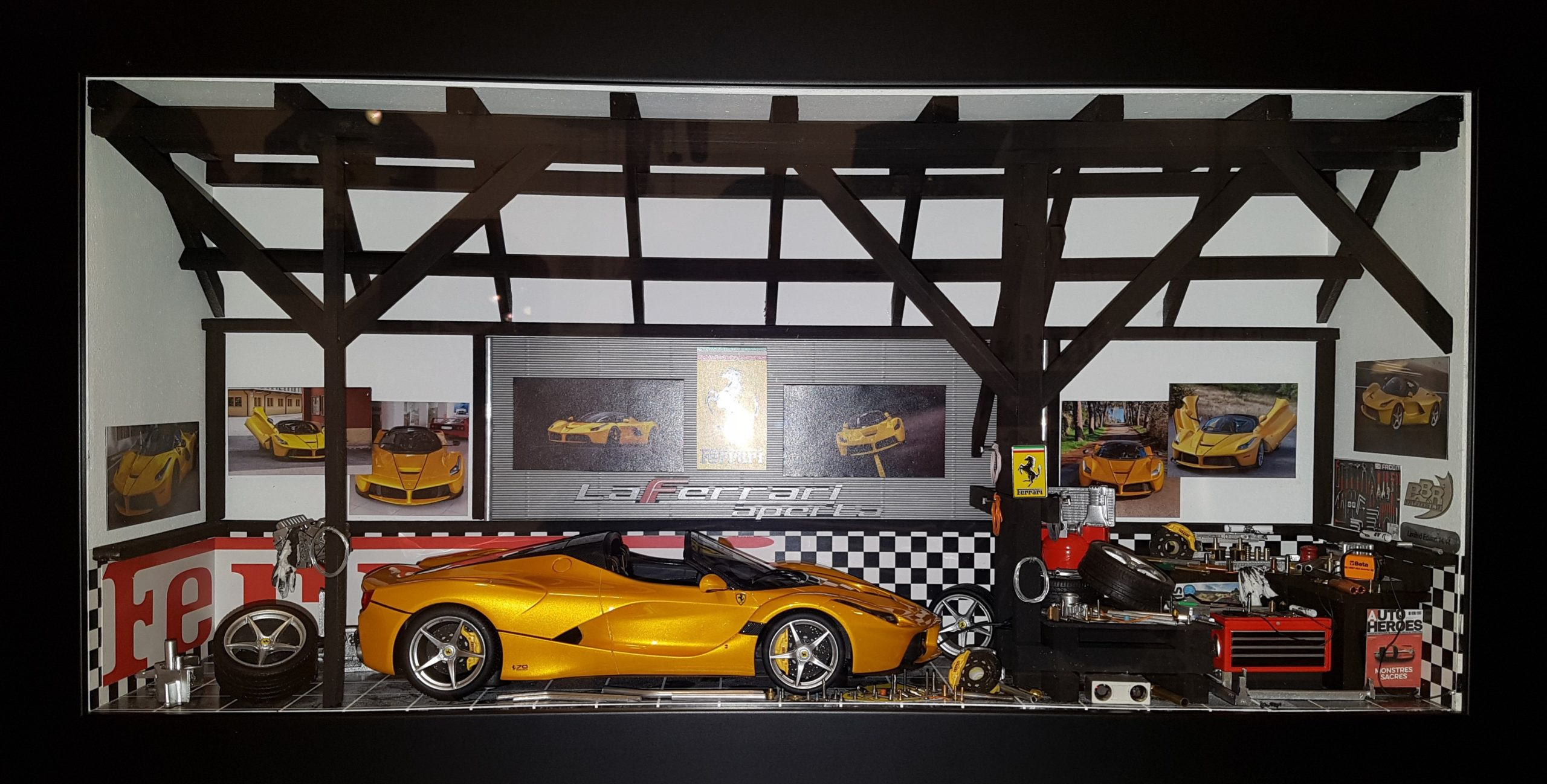Car Display Box – Ferrari Laferrari Aperta