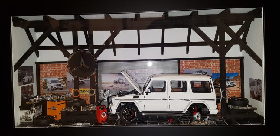 Car Display Box – Mercedes G63