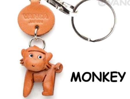 Leather Key Chain – Monkey