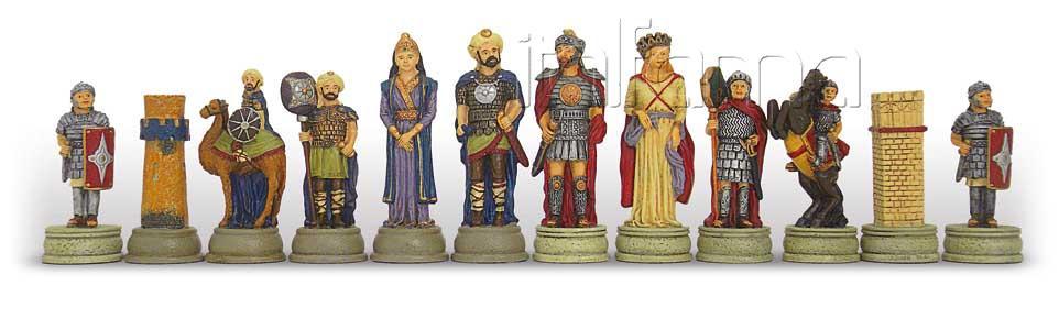 Chess Pieces – Roman Vs Arabs