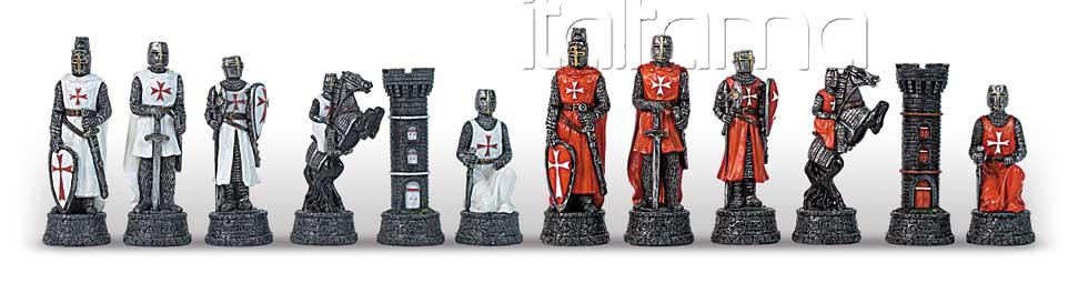 Chess Pieces – Crusaders