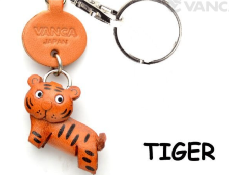 Leather Key Chain – Tiger