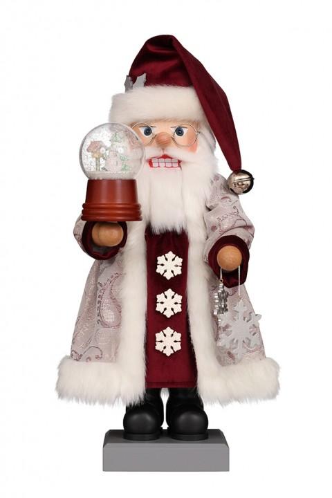 Nutcracker – Santa With Snow Globe