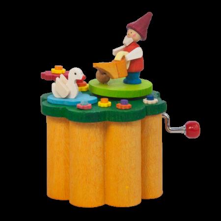 Music Box – Dwarf In A Field Of Flowers